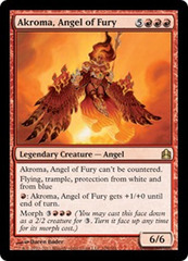 Akroma, Angel of Fury on Channel Fireball