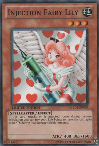 Injection Fairy Lily - GLD4-EN009 - Common - Limited Edition