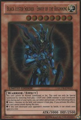 Black Luster Soldier - Envoy of the Beginning - GLD4-EN013 - Gold Rare - Limited Edition on Channel Fireball