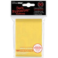 Ultra Pro Standard Sleeves - Yellow (50 ct.)