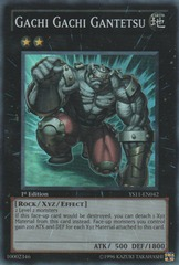 Gachi Gachi Gantetsu - YS11-EN042 - Super Rare - 1st Edition on Channel Fireball