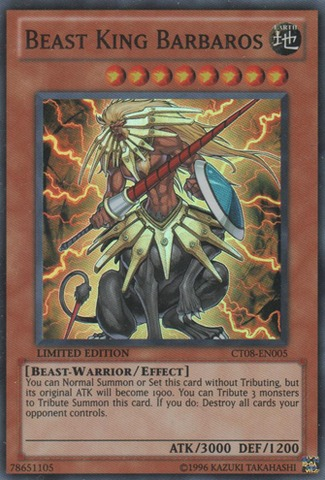 Beast King Barbaros - CT08-EN005 - Super Rare - Limited Edition