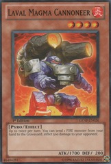 Laval Magma Cannoneer - GENF-EN026 - Common - 1st Edition