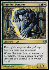 Fleetfoot Panther on Channel Fireball