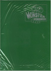 Monster Protectors 9 Pocket Matte Green Binder