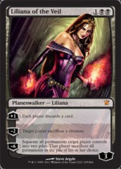 Liliana of the Veil on Channel Fireball