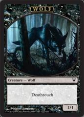 Wolf Token (Black)