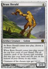 Brass Herald - Foil