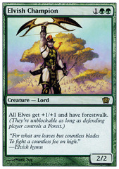 Elvish Champion - Foil (8ED)