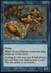 Cloud of Faeries - Foil on Channel Fireball