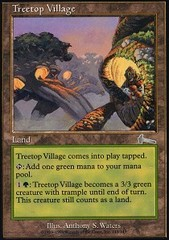 Treetop Village - Foil on Channel Fireball