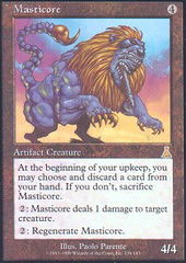 Masticore - Foil on Channel Fireball