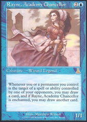Rayne, Academy Chancellor - Foil on Channel Fireball