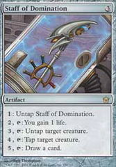 Staff of Domination - Foil on Channel Fireball
