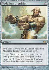Vedalken Shackles - Foil on Channel Fireball