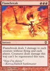 Flamebreak - Foil on Ideal808