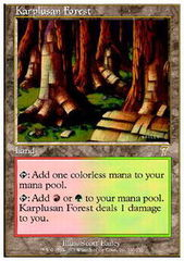 Karplusan Forest - Foil on Channel Fireball