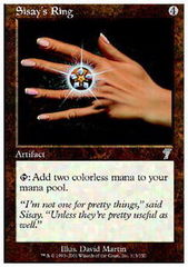 Sisay's Ring - Foil on Channel Fireball