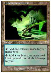 Underground River - Foil on Channel Fireball