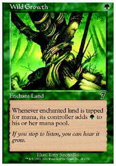 Wild Growth - Foil on Channel Fireball