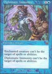 Diplomatic Immunity - Foil on Channel Fireball