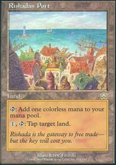 Rishadan Port - Foil on Channel Fireball