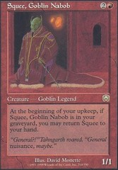 Squee, Goblin Nabob - Foil on Channel Fireball