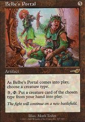 Belbe's Portal - Foil on Channel Fireball