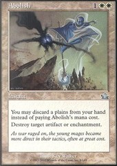 Abolish - Foil on Channel Fireball