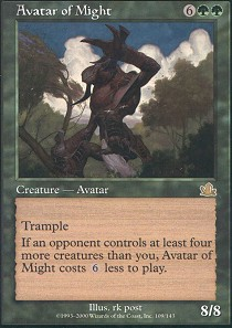 Avatar of Might - Foil