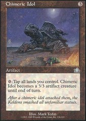 Chimeric Idol - Foil on Channel Fireball