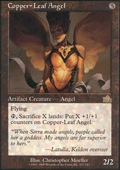 Copper-Leaf Angel - Foil on Channel Fireball