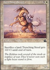 Trenching Steed - Foil