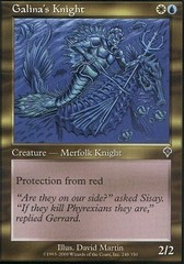 Galina's Knight - Foil