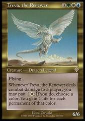 Treva, the Renewer - Foil on Channel Fireball