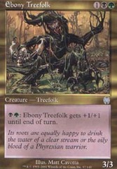Ebony Treefolk - Foil