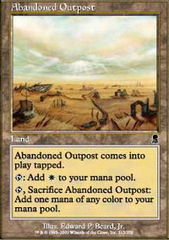 Abandoned Outpost - Foil on Channel Fireball