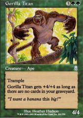 Gorilla Titan - Foil
