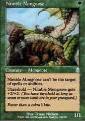 Nimble Mongoose - Foil on Channel Fireball