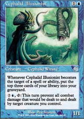 Cephalid Illusionist - Foil on Channel Fireball
