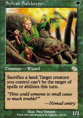 Sylvan Safekeeper - Foil on Channel Fireball