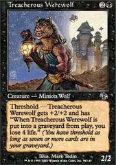 Treacherous Werewolf - Foil