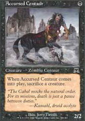 Accursed Centaur - Foil on Channel Fireball