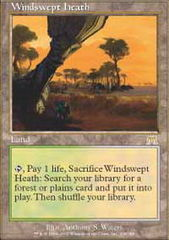 Windswept Heath - Foil on Channel Fireball