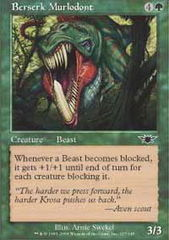 Berserk Murlodont - Foil on Channel Fireball