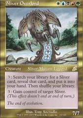 Sliver Overlord - Foil on Channel Fireball