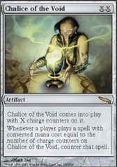 Chalice of the Void - Foil on Channel Fireball