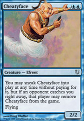 Cheatyface - Foil on Channel Fireball