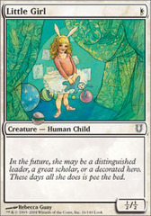 Little Girl - Foil on Channel Fireball