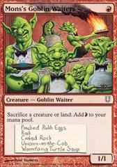 Mons's Goblin Waiters - Foil